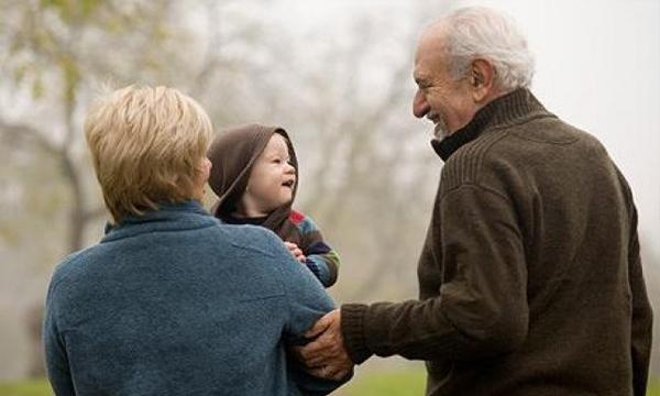 Pensioen schoonouders worden oma en opa