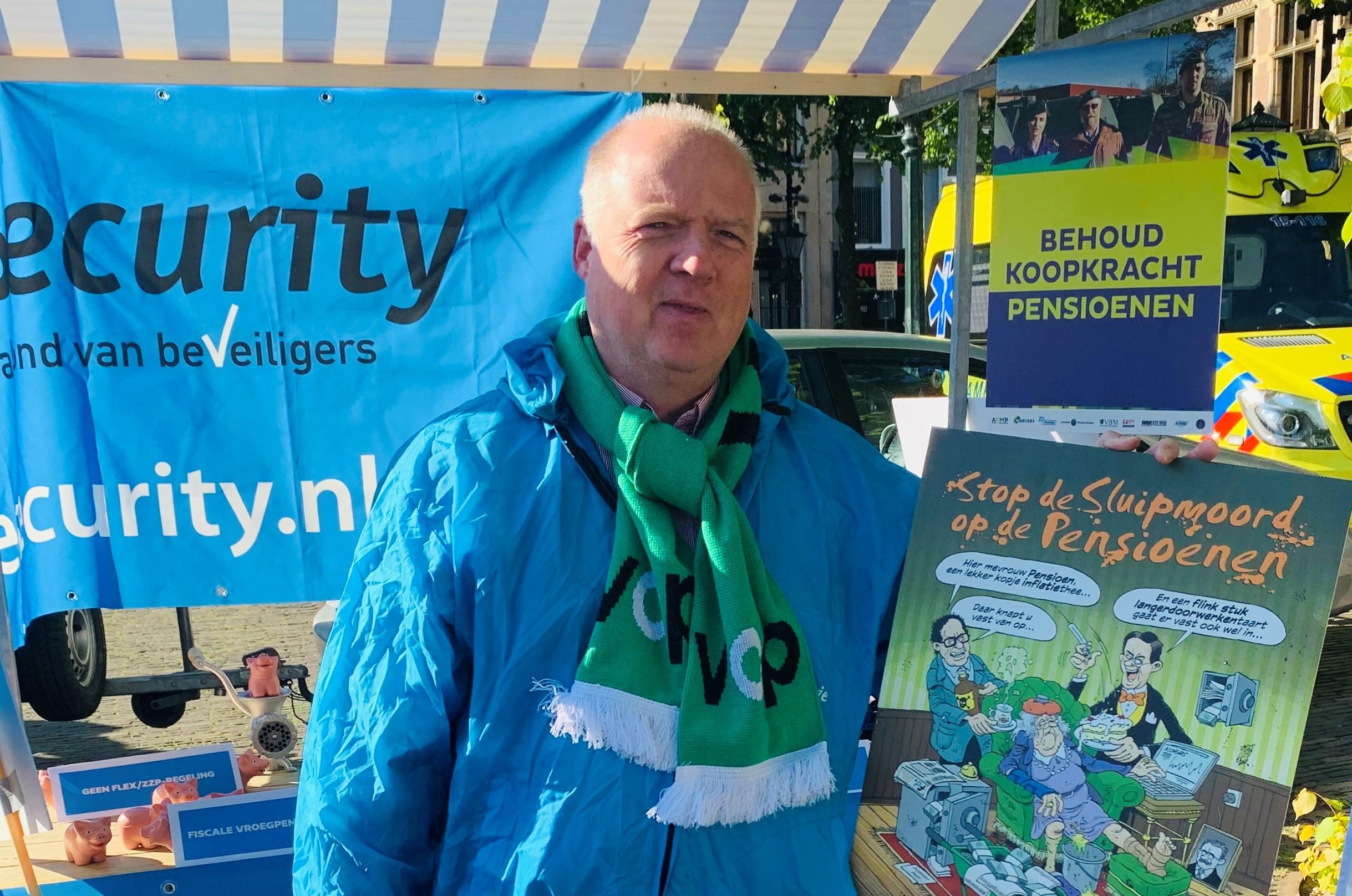 Harry van Herpen penningmeester VCP